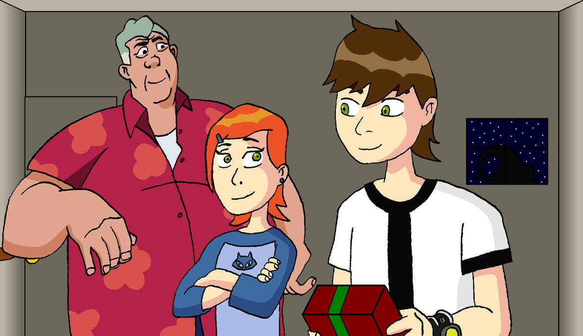 Christmas with the Tennysons by BigJohnnyCool