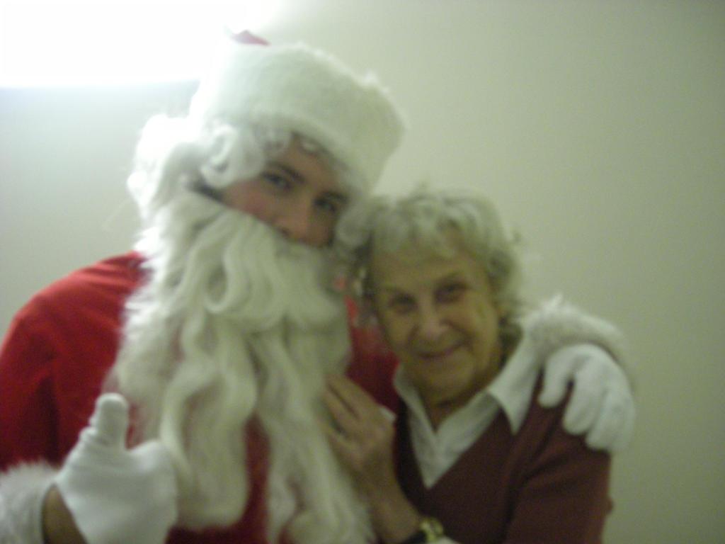 Santa's Grandma by BigJohnnyCool
