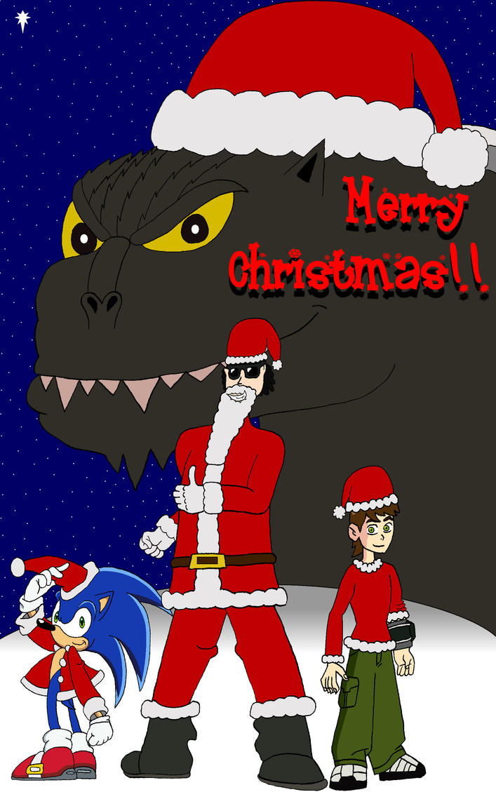 Big Johnny Claus returns by BigJohnnyCool