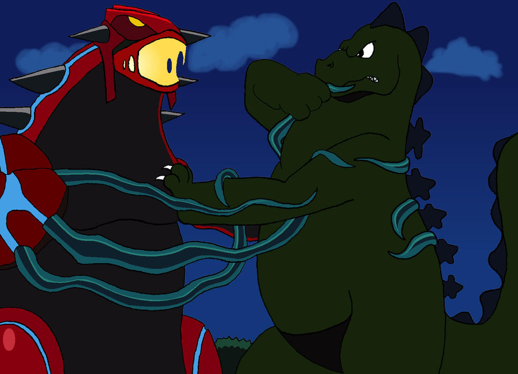That's NOT Groudon by BigJohnnyCool