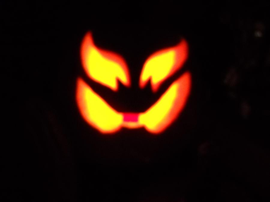 Belial-faced Pumpkin by BigJohnnyCool