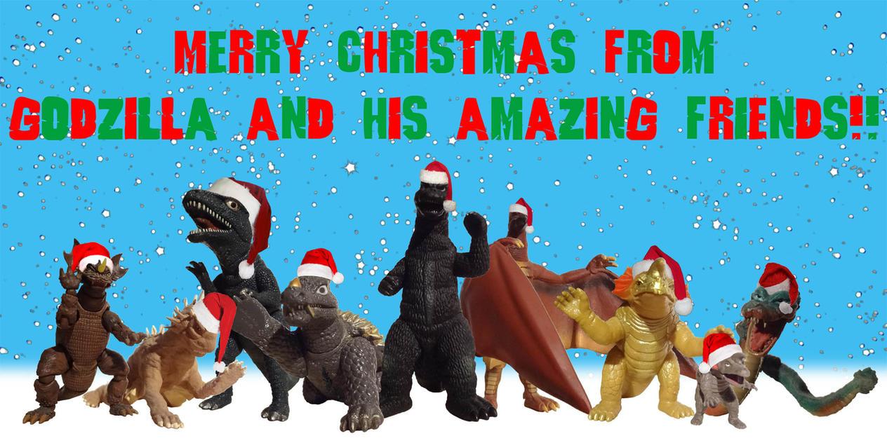 Godzilla and his Amazing Friends Xmas Piece - 2014 by ...