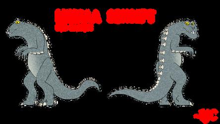 COMMISSION - Minilla Concept