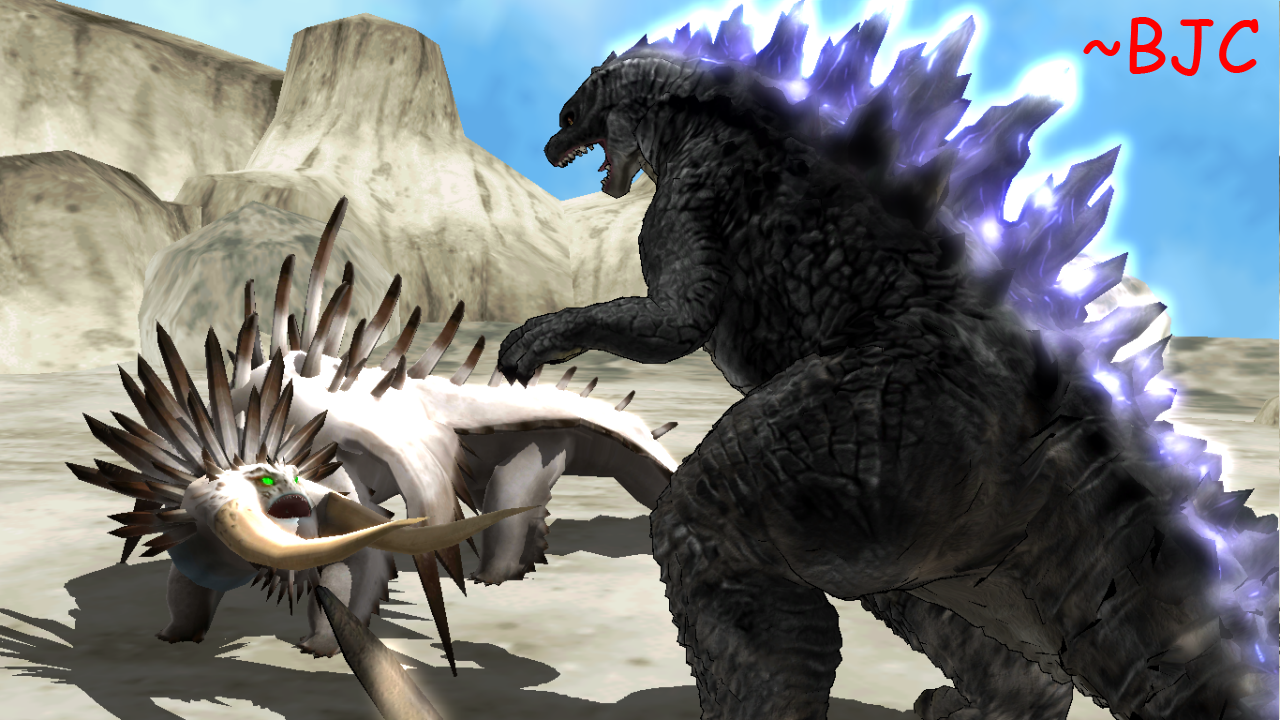 Mmd Godzilla 2014 Vs Bewilderbeast By Bigjohnnycool On Deviantart