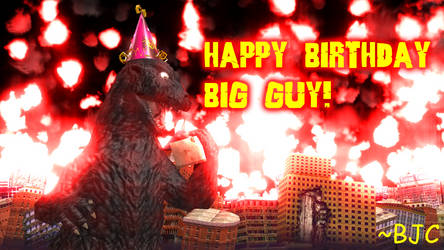 [MMD] Happy 64th Birthday Godzilla! by BigJohnnyCool