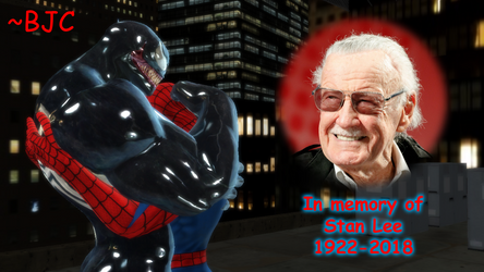 [MMD] R.I.P. Stan Lee (1922 - 2018) by BigJohnnyCool