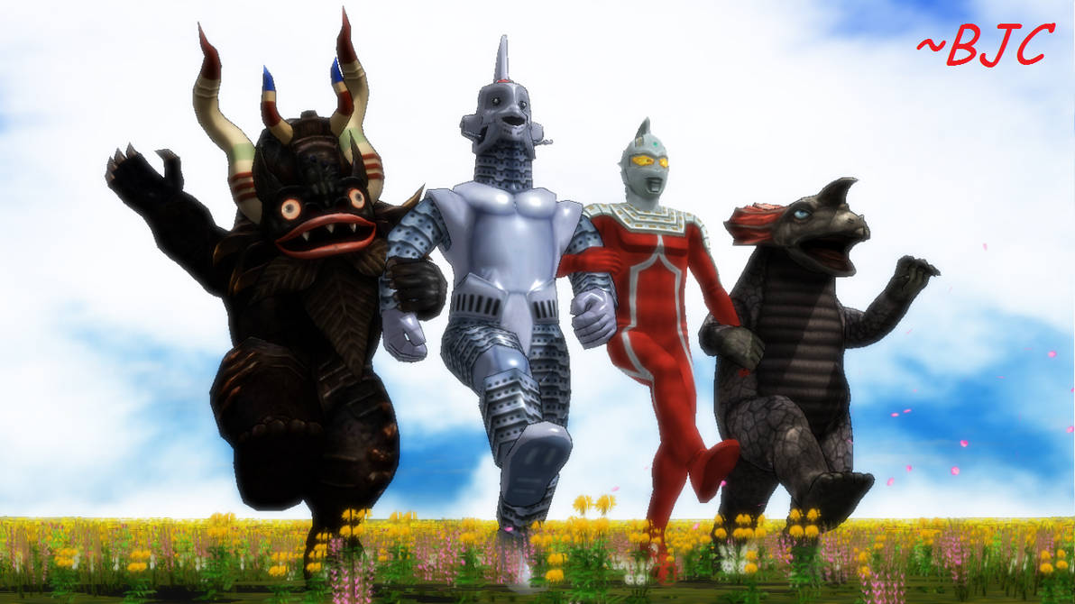 [MMD] We're off to see the Ultraman King! by BigJohnnyCool