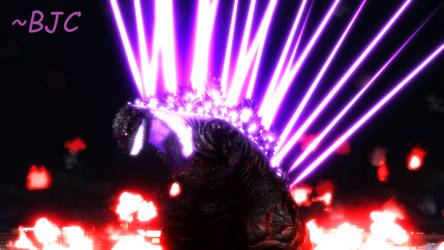 [MMD] Kaiju-sized Laser Light Show by BigJohnnyCool