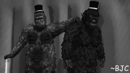 [MMD] Young Frankensteins