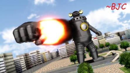 [MMD] Sevenger's rocket punch