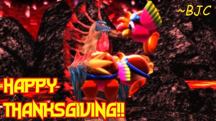 [MMD] Kaiju Thanksgiving 2020