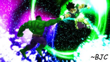 [MMD] Broly vs. Hulk