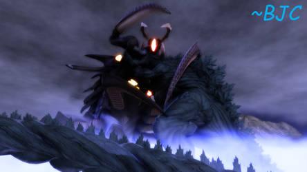 [MMD] Godzilla Earth vs. Giganto Zetton