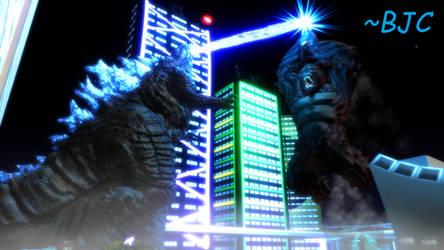 [MMD] Godzilla vs. Kong, Trailer Fight