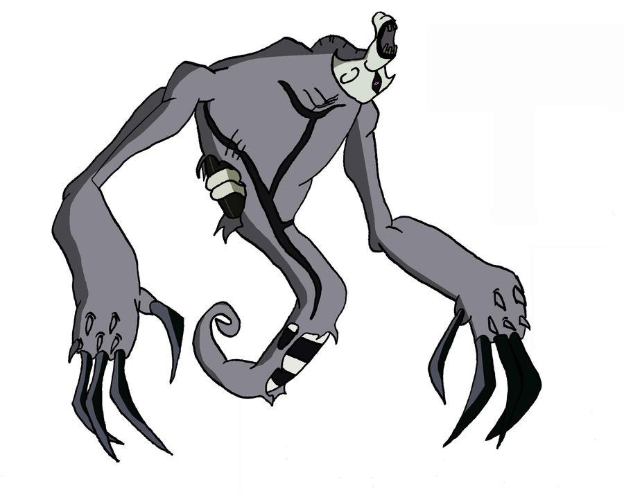 Ghostfreak's true form by BigJohnnyCool