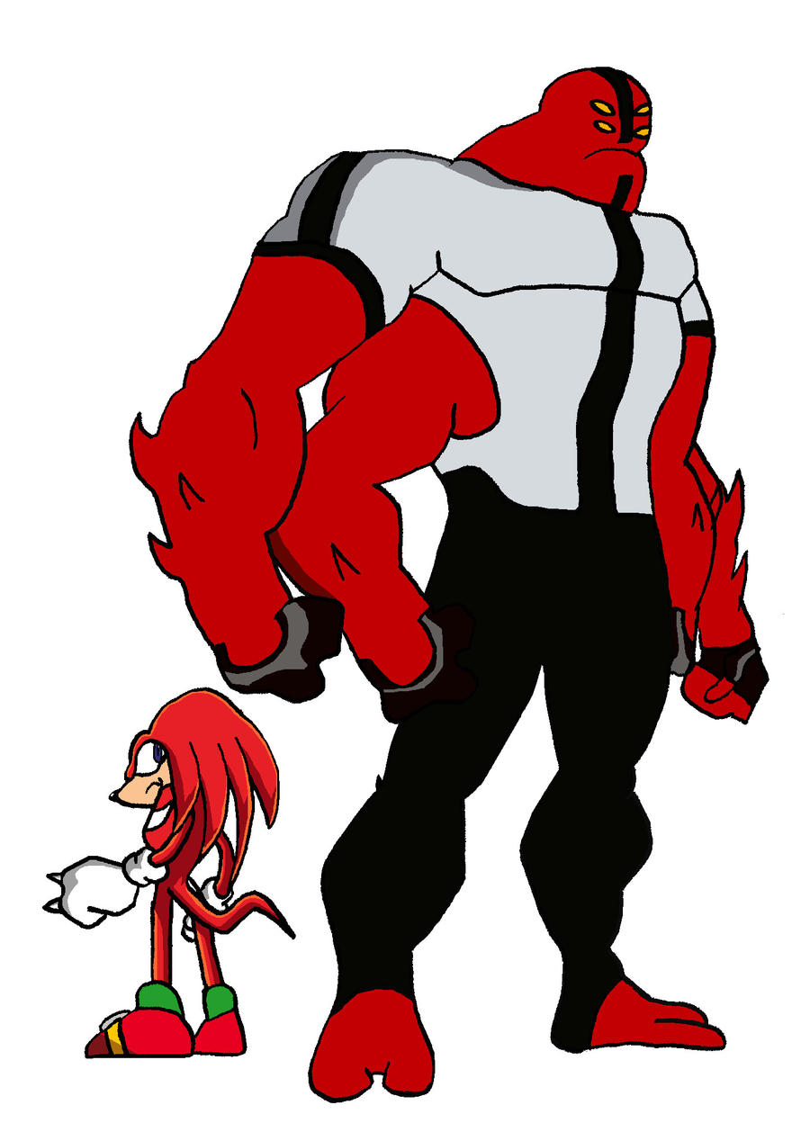 Knuckles and Fourarms by BigJohnnyCool