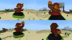 8bit 3d Mario by JRDN762