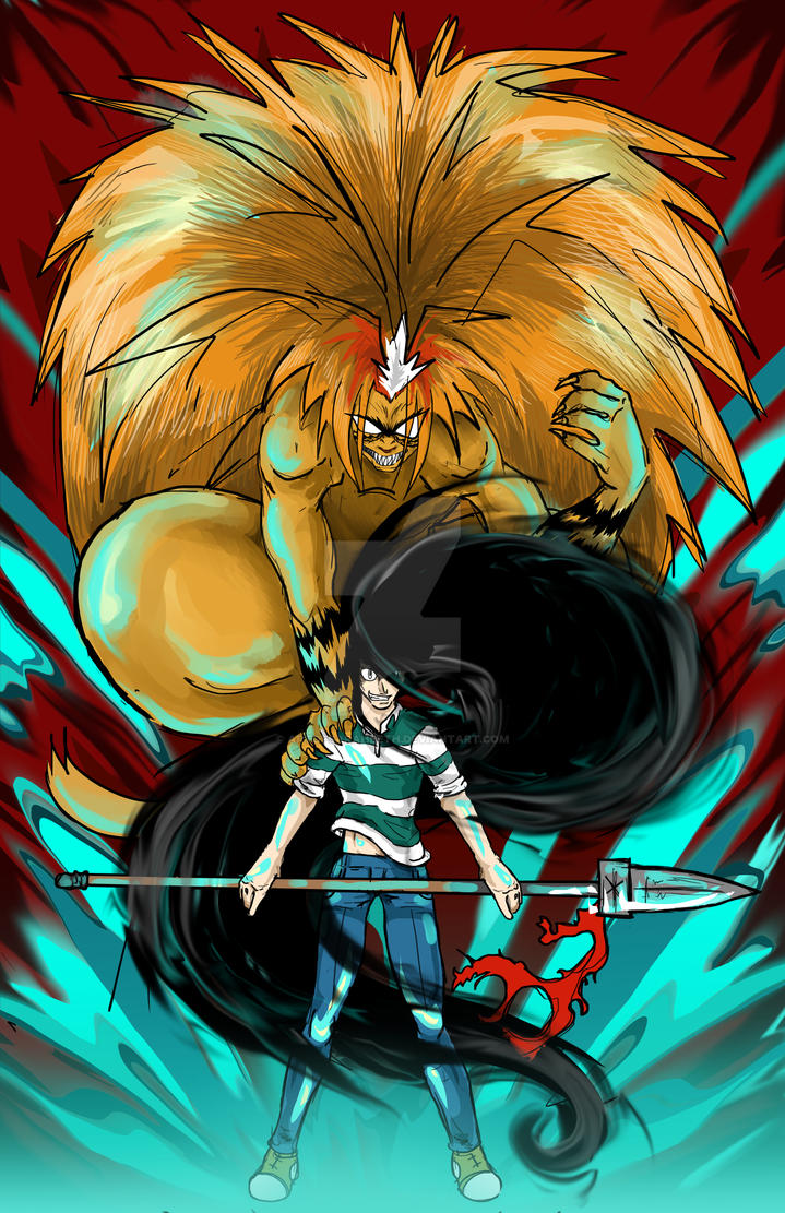 Ushio and Tora by ArtofSarahBeth