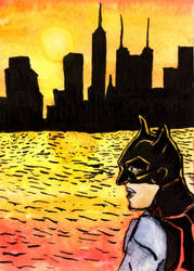 Gotham Sunset by CuriousOh