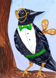 Clockwork Raven by CuriousOh