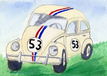 Herbie -The Love Bug by CuriousOh