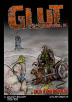 Webcomic 'GLUT' Part II Cover by Lenn-Rat