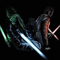 The Last Jedi _ Light in the dark