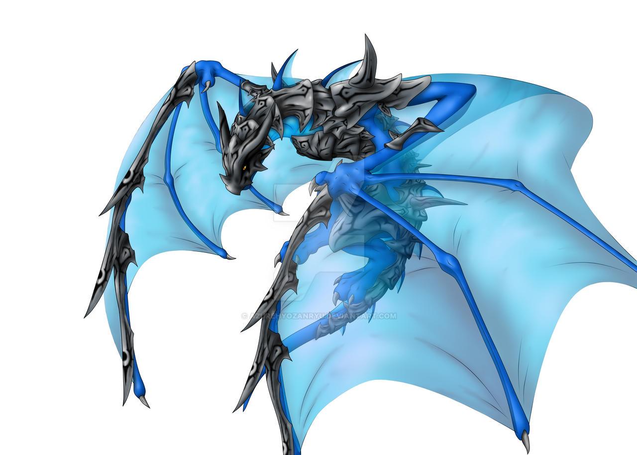 Armored Battle Wyvern by AzureHyozanryu on DeviantArt | 1280 x 914 jpeg 210kB