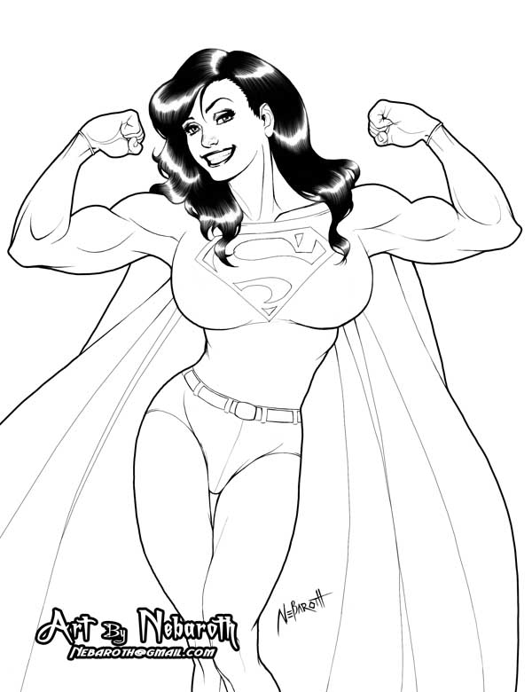 SuperWoman Commission by NeoBabylon