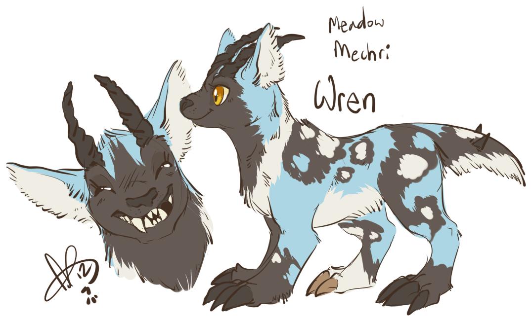Wren Mechri by CloverCoin