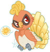 Ho Oh Chibi by CloverCoin