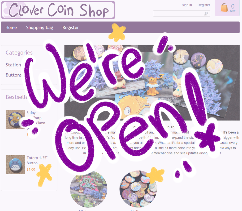 Clover coin online shop is now open by clovercoin on - Coin casa shop on line ...