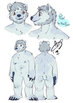 Prov Polar Bear Fursona