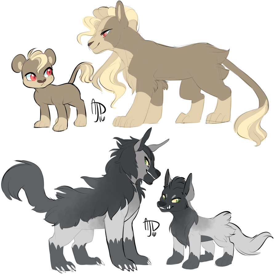 Squishy Dog From Pokemon : Pokemon: Cats and Dogs by CloverCoin on DeviantArt