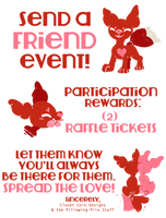 Pillowing-Pile: Send a Friend Event! CLOSED by CloverCoin