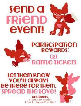 Pillowing-Pile: Send a Friend Event! CLOSED