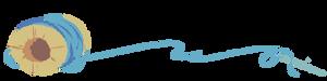 Pillowingpile-dividerart-bluethread-webflipped by CloverCoin