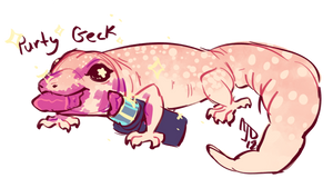 purty geck by CloverCoin