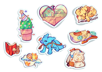 Pillowing Prompt Sticker Update by CloverCoin
