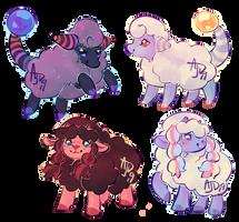 sparkle sheep pokemon (1/4 OPEN)