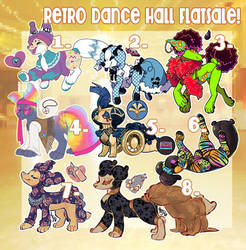 Retro Dance Hall Pillowing Flatsale (Closed) by CloverCoin