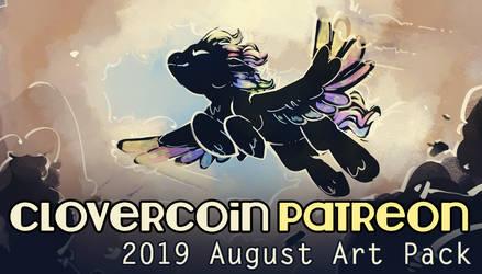 CloverCoin 2019 August Art Pack