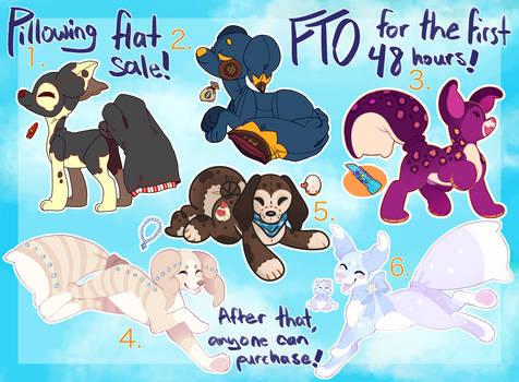 FTO Pillowing Flatsale (CLOSED)