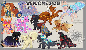 Pillowing Sale: Welcome 2020 (CLOSED)
