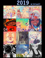 2019, thanks for all the art!