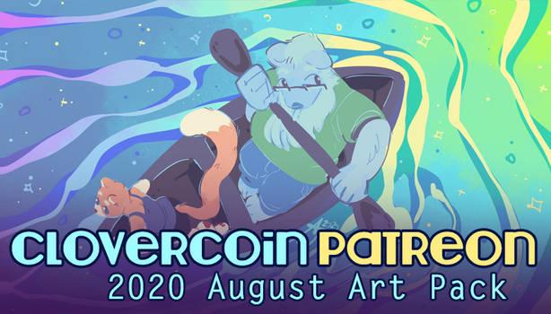 CloverCoin 2020 August Art Pack n Updates