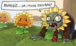 Plants vs Zombies - Hipster Zombie