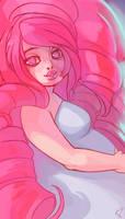 Steven Universe: Rose Quartz by ArtofCelle