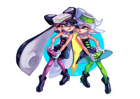 Splatoon: The Rivalry Continues by ArtofCelle