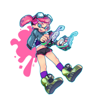 Inkling Commission Sample by ArtofCelle